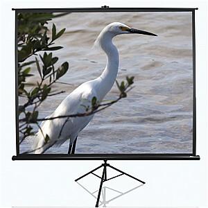 "Elite Screens Tripod Series T100UWV1 Diagonal 100 "", 4:3, Viewable screen width (W) 203 cm, Black"