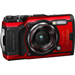 Olympus Digital Camera Tough TG-6 12 MP, Red