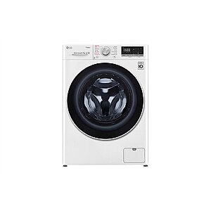LG Washing machine with dryer F4DN409S0 Energy efficiency class D, Front loading, Washing capacity 9 kg, 1400 RPM, Depth 56 cm, Width 60 cm, Display, LED touch screen, Drying system, Drying capacity 5 kg, Steam function, Direct drive, Wi-Fi, White