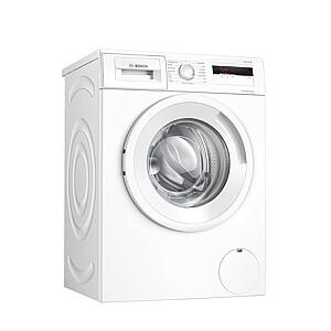 Bosch Serie 4 Washing Machine WAN280L2SN Energy efficiency class D, Front loading, Washing capacity 7 kg, 1400 RPM, Depth 55 cm, Width 60 cm, Display, LCD, White