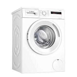 Bosch Serie 4 Washing Machine WAN240L2SN Energy efficiency class D, Front loading, Washing capacity 7 kg, 1200 RPM, Depth 55 cm, Width 60 cm, Display, LCD, White