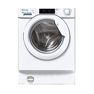 Candy Washing Machine with Dryer CBDO485TWME/1-S Energy efficiency class A, Front loading, Washing capacity 8 kg, 1400 RPM, Depth 52.5 cm, Width 60 cm, Drying system, Drying capacity 5 kg, NFC, Wi-Fi, White