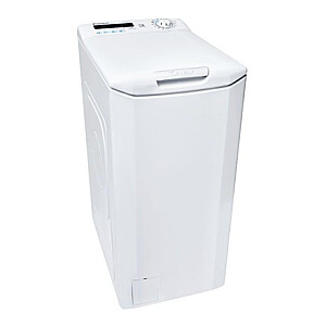Candy Washing machine CSTG 262DE/1-S Energy efficiency class E, Top loading, Washing capacity 6 kg, 1200 RPM, Depth 60 cm, Width 40.5 cm, NFC, White