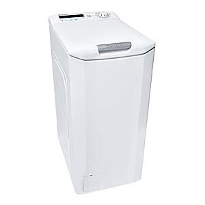 Candy Washing machine CSTG 272DVE/1-S Energy efficiency class F, Top loading, Washing capacity 7 kg, 1200 RPM, Depth 60 cm, Width 40.5 cm, 2D, White