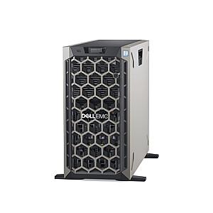 "Dell PowerEdge T440 Tower, Intel Xeon, Silver 1x4214, 2.2 GHz, 16.5 MB, 24T, 12C, 1x16 GB, RDIMM DDR4, 2666 MHz, SSD 480 GB, Up to 8 x 3.5"", Hot-swap hard drive bays, PERC H730P, Dual, Hot-plug, Redundant, Power supply 49 W, On-Board LOM 2x1GbE, iDR"
