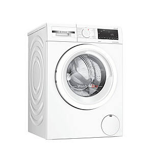 Bosch Serie 4 Washing Machine With Dryer WNA134L0SN Energy efficiency class C, Front loading, Washing capacity 8 kg, 1400 RPM, Display, LED, Drying system, Drying capacity 5 kg, Steam function, White