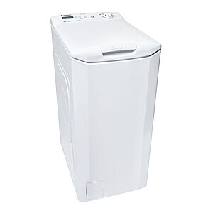 Candy Washing machine CST 06LE/1-S Energy efficiency class E, Top loading, Washing capacity 6 kg, 1000 RPM, Depth 60 cm, Width 40.5 cm, LED, White