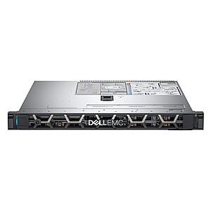 "Dell PowerEdge R340 Rack (1U), Intel Xeon, E-2224, 3.4 GHz, 8 MB, 4T, 4C, UDIMM DDR4, 2666 MHz, No RAM, No HDD, Up to 4 x 3.5"", Hot-swap hard drive bays, PERC H330, Dual, Hot Plug, Power supply 350 W, iDRAC9 Basic, Sliding Rails, No OS, Warranty Bas"