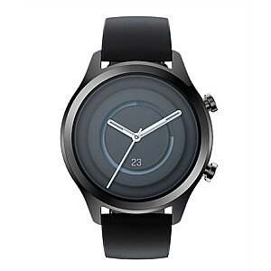TicWatch C2+ Smart watch, NFC, GPS (satellite), AMOLED, Heart rate monitor, Waterproof, Bluetooth, 1 GB, 4 GB, Android, iOS, Wi-Fi, Snapdragon Wear 2100, 20 mm, Black