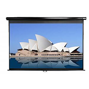 "Elite Screens Manual Series M128UWX Diagonal 128 "", 16:10, Viewable screen width (W) 275 cm, Black"