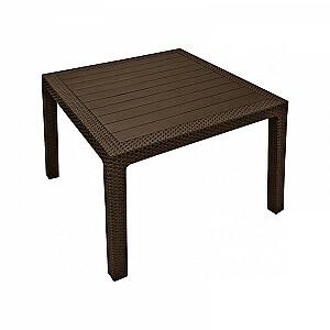 Dārza galds Melody Quartet brūns