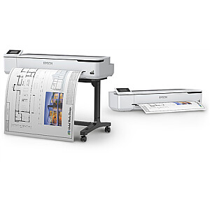 Epson Large format printer - technical SC-T5100  Colour, Inkjet Ultrachrome® XD2, A1, Wi-Fi, Grey