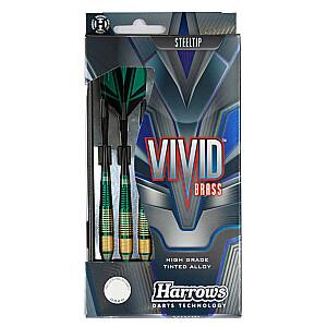 Darts Steeltip VIVID 3x24gR zaļš