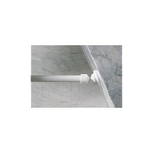 Turētājs dušas aizkaru stangām uz slīpām sienām Wallquick Ø 25mm