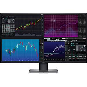 """Dell UltraSharp U4320Q 43 """", IPS, 4K UHD, 3840 x 2160 pixels, 16:9, 5 ms, 350 cd/m², Black, Warranty 60 month(s), 2 x HDMI 2.0, 1 x DP 1.4, 2 x USB-C, 3 x USB 3.1 Gen1"""
