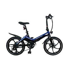 """Blaupunkt Fiete 500, E-Bike, Motor power 250 W, Wheel size 20 """", Warranty 24 month(s), Blue/Black"""