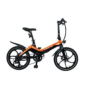 """Blaupunkt Fiene 500, E-Bike, Motor power 250 W, Wheel size 20 """", Warranty 24 month(s), Orange/Black"""