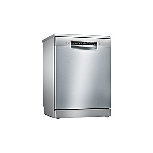 Bosch Dishwasher SMS4HVI33E Free standing, Width 60 cm, Number of place settings 13, Number of programs 6, Energy efficiency class D, Display, AquaStop function, Silver