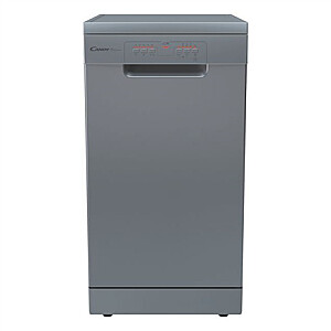 Candy Dishwasher CDPH 2L949X Free standing, Width 44.8 cm, Number of place settings 9, Number of programs 5, Energy efficiency class E, Stainless steel