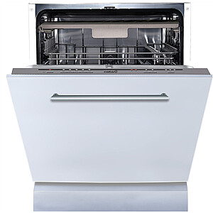 CATA Dishwasher LVI 61014 Built-in, Width 60 cm, Number of place settings 14, Number of programs 5, Energy efficiency class E, Inox