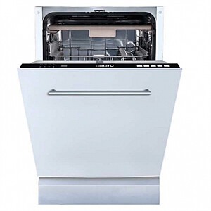 CATA Dishwasher LVI 46010 Built-in, Width 45 cm, Number of place settings 10, Number of programs 4, Energy efficiency class E, White