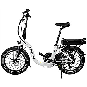 "Blaupunkt Folding E-bike Speed, Wheel size 20 "", Warranty 24 month(s), 22 kg, Aluminum, White/Black, 70 km"