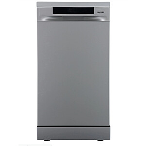 Gorenje Dishwasher GS541D10X Free standing, Width 44.8 cm, Number of place settings 11, Number of programs 5, Energy efficiency class D, Display