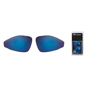 Maiņas lēcas Force Pro zilas (laser) (X)