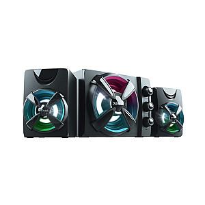 Speaker TRUST Ziva RGB Black 23644