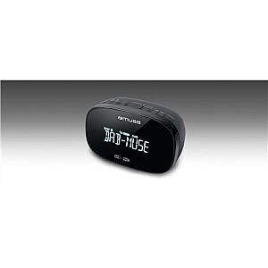 Muse DAB+/FM Dual Alarm Clock Radio M-150 CDB Alarm function, AUX in, Black