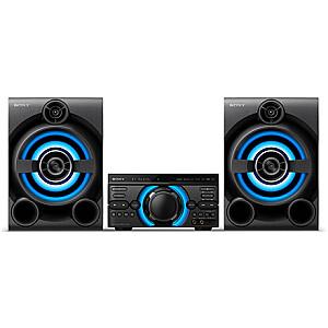 Sony High Power Home Audio System MHC-M60D USB port, Bluetooth, FM radio, CD player