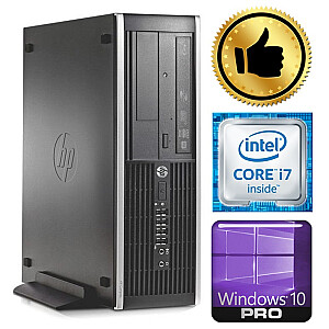 HP 8100 Elite SFF i7-860 8GB 120SSD+1TB DVD WIN10PRO/W7P