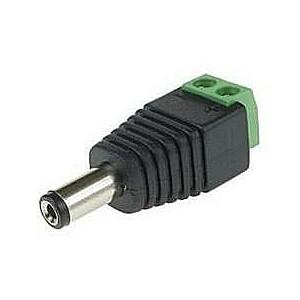 POWER CONNECTOR PLUG-SCREW/WTYKDC GENWAY