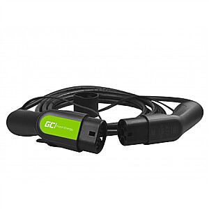 Green Cell EV13, Cable Green Cell GC Type 2 3.6kW 5m for charging EV / PHEV, 16 A, 5 m