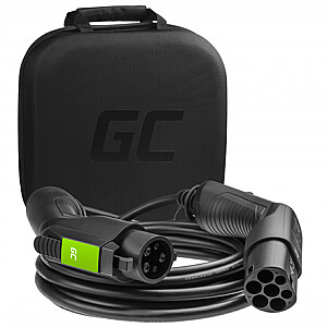 Green Cell EV21, Cable Green Cell GC EV Type 2 - Type 1 7.2kW 32A 7m for charging EV / PHEV, 32 A, 7 m