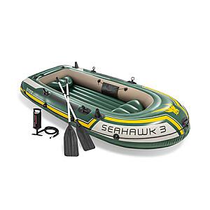 Intex Seahawk 3 Boat Set 68380NP Green