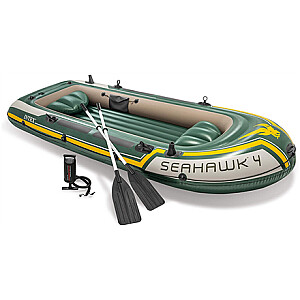 Intex Seahawk 4 boat set Green, 351 x 145 x 48 cm