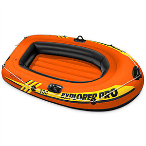Intex Explorer Pro 200 Boat Set Orange/Yellow, 196 x 102 x 33  cm