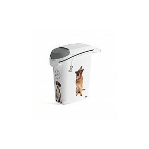 Trauks barības uzglabāšanai Love Pets Dogs 10kg 23L 23,2x49,7x50,3cm suns