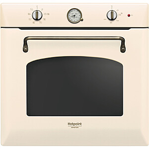 Hotpoint Oven FIT 801 H OW HA 73 L, Electric, Steam cleaning, Mechanical, Height 59.5 cm, Width 59.5 cm, Jasmine