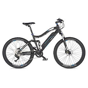 """Telefunken Aufsteiger M930, MTB E-Bike, Motor power 250 W, Wheel size 27.5 """", Warranty 24 month(s), Anthracite/Blue"""