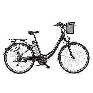 "Telefunken Multitalent RC860, City E-Bike, Motor power 250 W, Wheel size 28 "", Warranty 24 month(s), Anthracite"