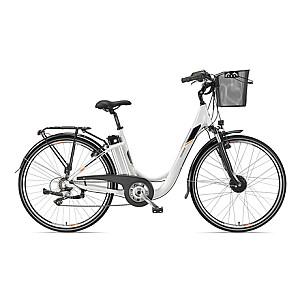 """Telefunken Multitalent RC820, City E-Bike, Motor power 250 W, Wheel size 28 """", Warranty 24 month(s), White"""
