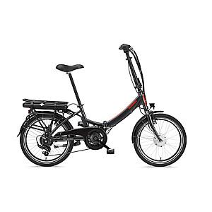 """Telefunken Kompakt F810, Folding E-Bike, Motor power 250 W, Wheel size 20 """", Warranty 24 month(s), Anthracite"""