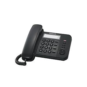 Panasonic Corded KX-TS520FXB Black, 518 g, 19.6 x 9.5 x19 mm
