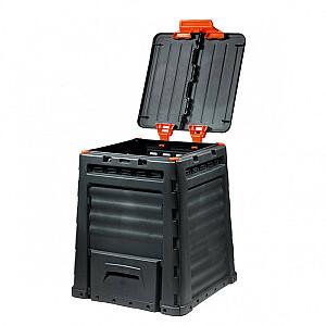 Komposta kaste Eco Composter 320L melna