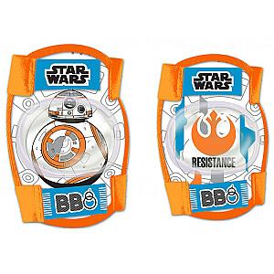 Aizsargu komplekts Seven Polska Star Wars BB8 oranžs/zils