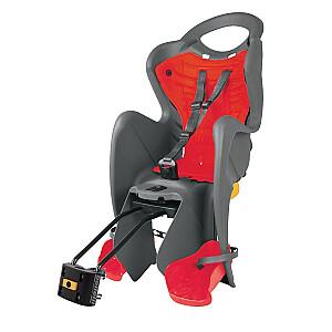 Bērnu krēsliņš Bellelli Mr. Fox Standart B-Fix Grey/Red