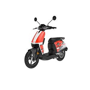 SUPER SOCO CUx SE Ducati Red, L1e, 4G modem, Max speed 45 km/h, Distance per battery charge (max) 85 km, Warranty 24 month(s), Mileage warranty 20000 km