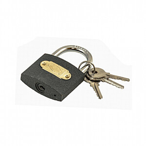Piekaramā atslēga čuguna, pelēka 40mm